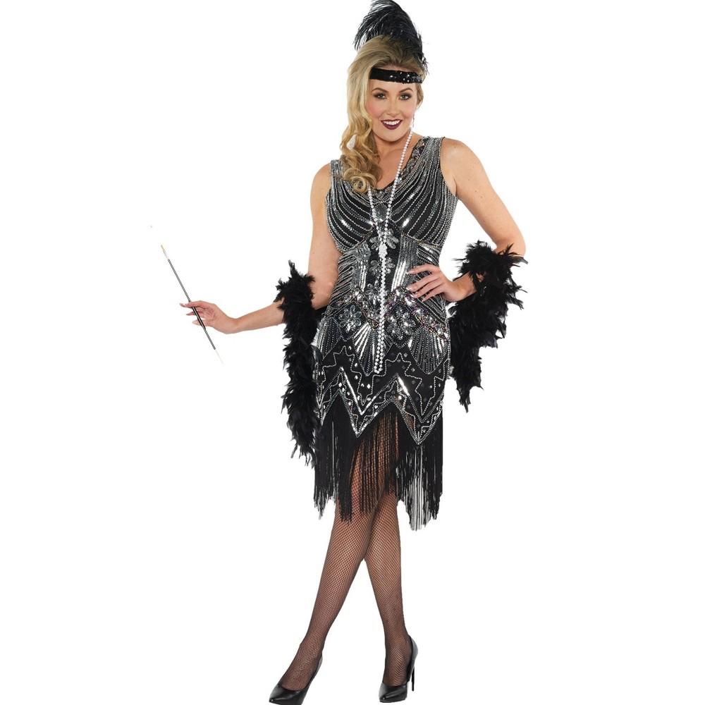 Adult Platinum Halloween Costume Xl