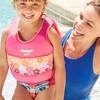 Aqua Leisure SwimSchool 4 to 6 Years 2 Piece Swim Trainer, Medium/Large, Pink - image 2 of 3
