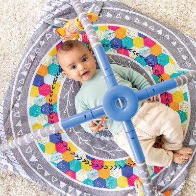 Infantino Go gaga! 4-in-1 Twist & Fold Musical Mobile Activity Gym