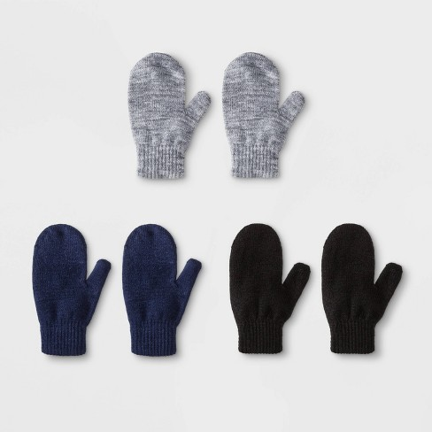 Toddler Boys' 3pk Magic Mittens - Cat & Jack™ One Size - image 1 of 1