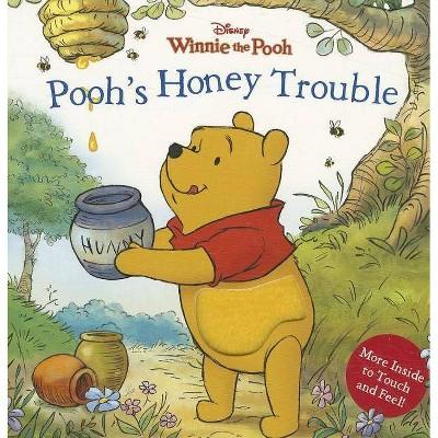 Pooh's Honey Trouble - (Disney Winnie the Pooh (Board)) by  Sara F Miller & Sara Miller (Board Book)