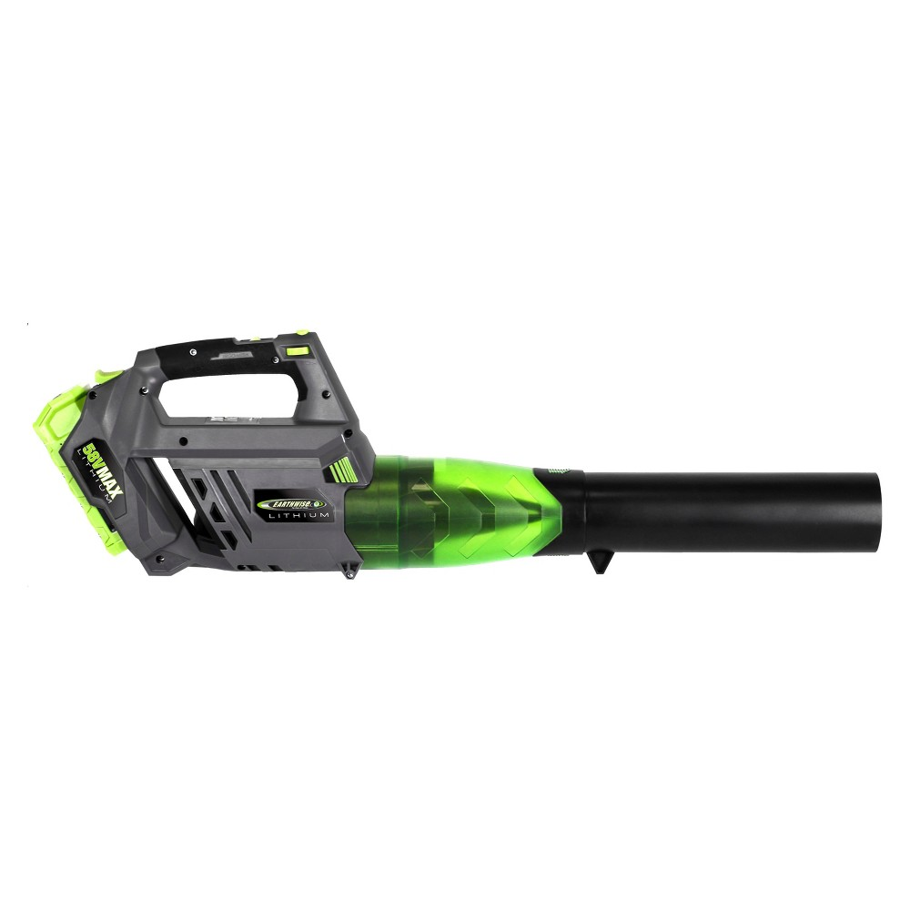 20 58 Volt Cordless Lithium Blower - Gray - Earthwise, Multi-Colored