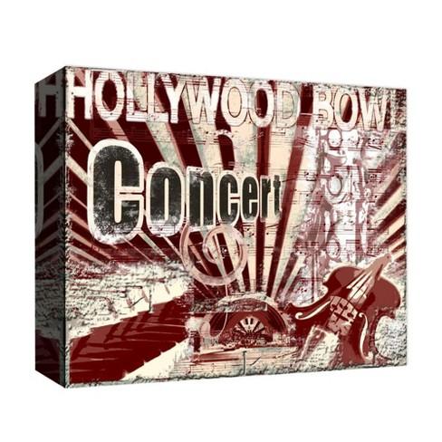 Hollywood Bowl Decorative Canvas Wall Art 11\