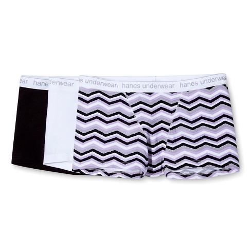 Hanes Premium Women s Boyfriend Cotton Stretch Boxer Briefs Underwear 3pk 33c17bac3e