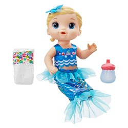 Baby Alive Shimmer 'n Splash Mermaid - Blond Hair