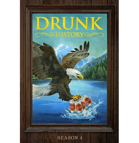 Drunk History:Season Four (DVD) - image 1 of 1