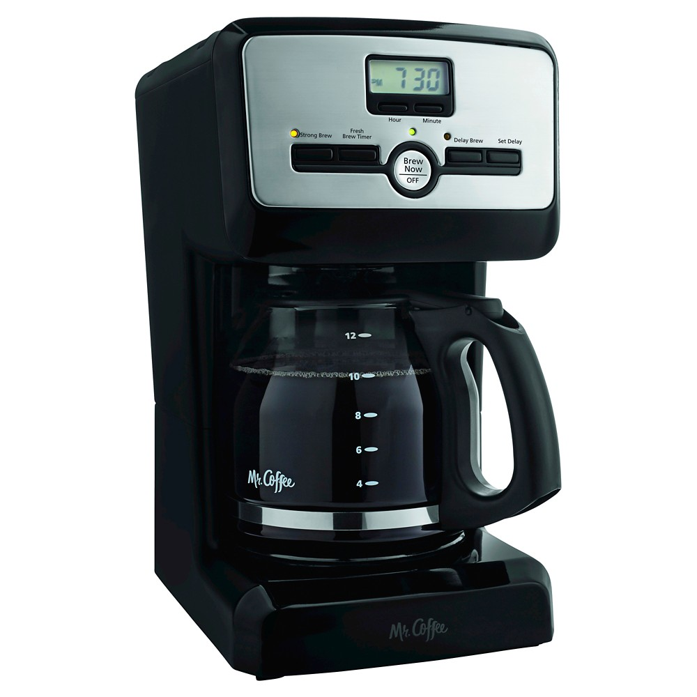 Image of Mr. Coffee 12 Cup Programmable Coffee Maker - PJX23, Black