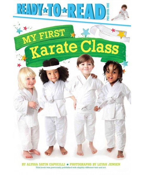 My First Karate Class (Hardcover) (Alyssa Satin Capucilli) - image 1 of 1
