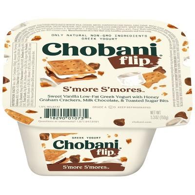 Chobani Flip S'mores Sweet Vanilla Low Fat Greek Yogurt - 5.3oz