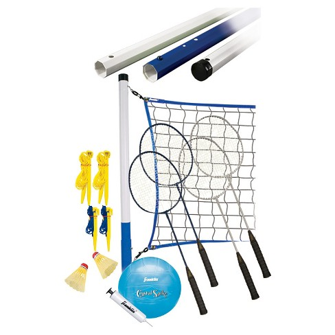 Franklin Sports Recreational Badminton/Volleyball Set - image 1 of 2