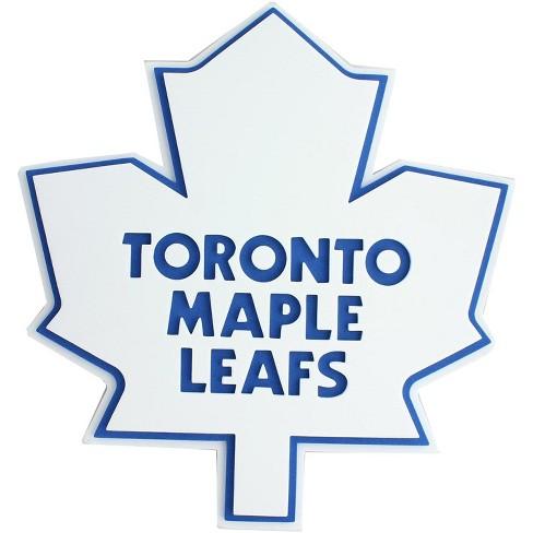"Foamfanatics NHL 3D Foam Logo 18"" Wall Display: Toronto Maple Leaves - image 1 of 2"