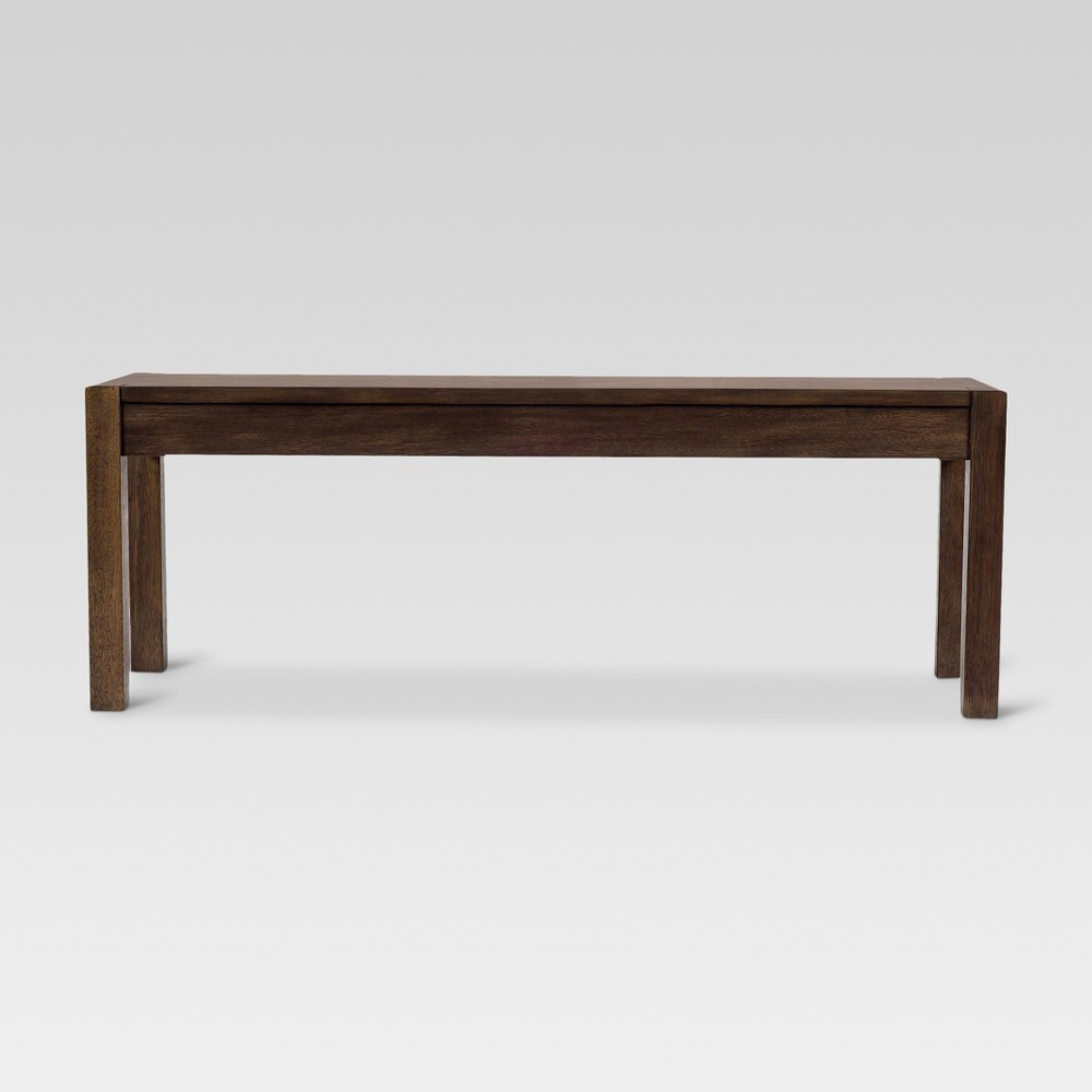 Parsons 50 Dining Bench - Brown - Threshold