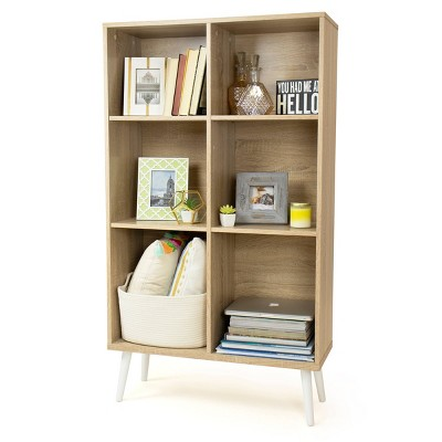 """55.24"""" Bookcase with Adjustable Shelving - Humble Crew"""