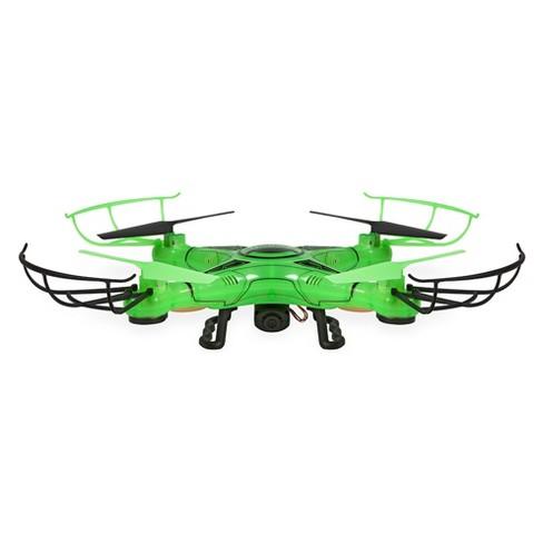 Striker-X Glow-In-The-Dark 2.4GHz - 4.5CH Remote Control RC HD Camera Drone - image 1 of 4
