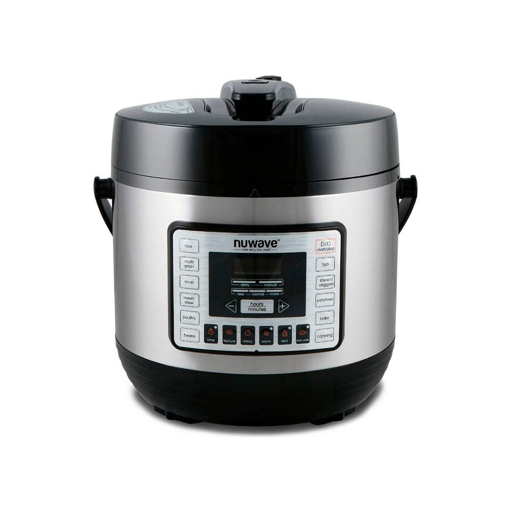 Image of NuWave 33101 6-Qt. Nutri-Pot Digital Pressure Cooker, Black