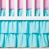 Sweet Jojo Designs Crib Bedding Set - Skylar - 11pc -  Pink - image 4 of 4