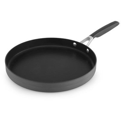 "Select by Calphalon 12"" Hard-Anodized Non-Stick Round Griddle"