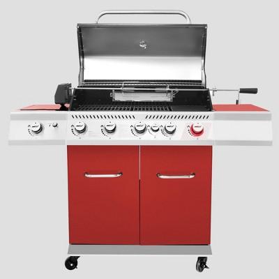 Royal Gourmet Deluxe 5-Burner Gas Grill GA5403R Red