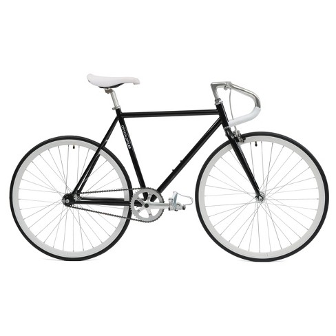 "Critical Cycles Fixie 27"" Fixed Gear Road Bike with Pista Bars - Black - image 1 of 3"