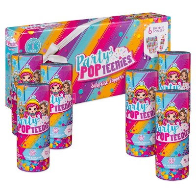 Party Popteenies Single Popper 6 pk