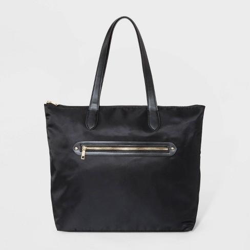 Zip Closure Tote Handbag - A New Day™ - image 1 of 3