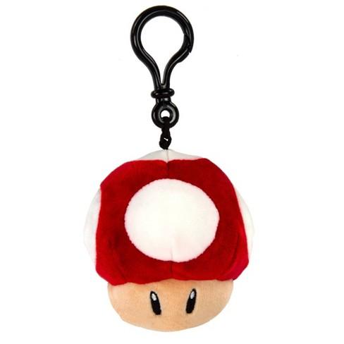 Nintendo Mario Kart Mocchi-Mocchi Clip on Plush - Mushroom - image 1 of 2