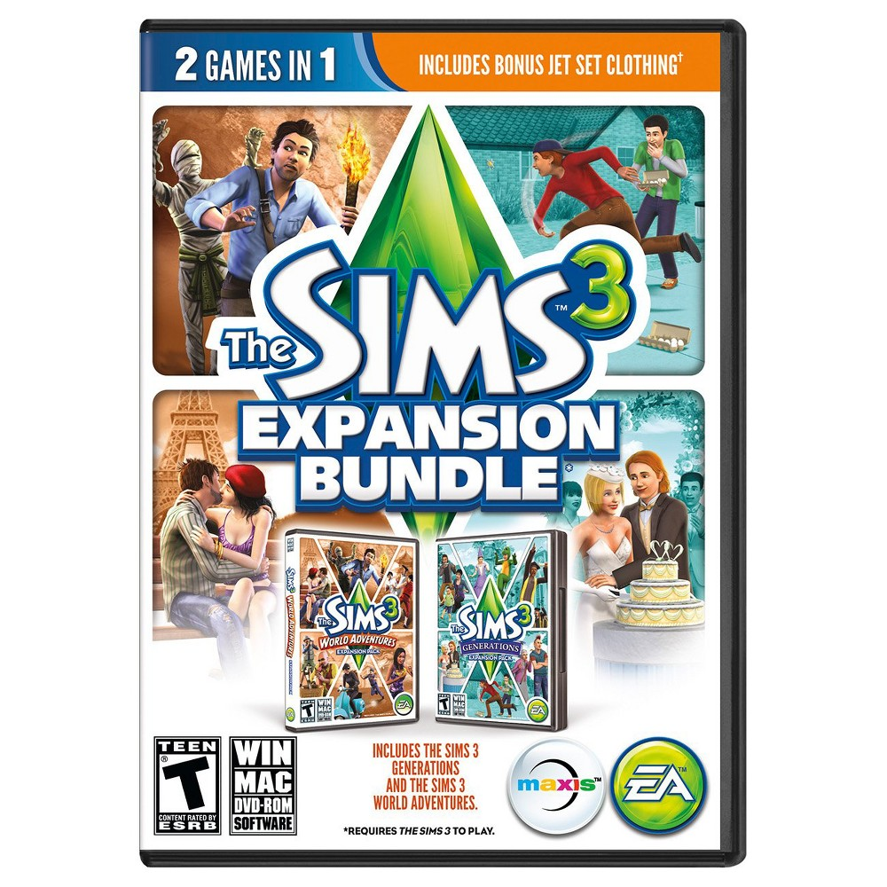 The Sims 3 Expansion Bundle PC Games