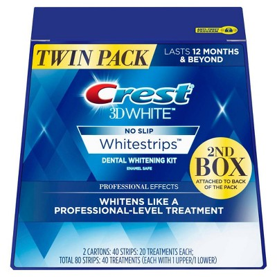 Crest 3 D Whitestrips Professional Effects Teeth Whitening Kit   40ct by 40ct