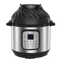 Instant Pot Duo Crisp 8-Quart 11-in-1 One-Touch Multi-Use Programmable Pressure Cooker with Air Fryer Lid