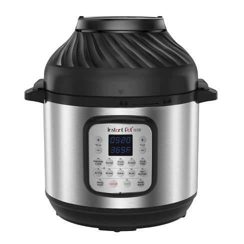 Instant Pot 8qt Duo Crisp Combo Electric Pressure Cooker Air Fryer - Stainless Steel - image 1 of 4