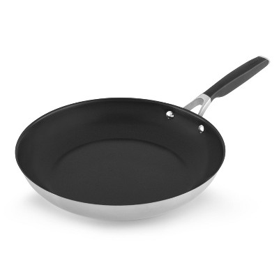 Select by Calphalon 12  Stainless Steel Non-Stick Fry Pan