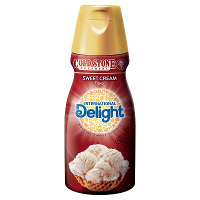 International Delight Coffee Creamer Cold Stone Sweet Cream - 32 Fl Oz : Target