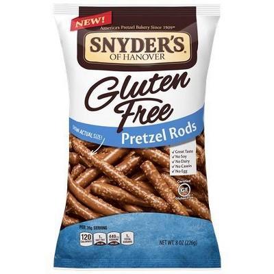 Pretzels: Snyder's Gluten Free Pretzel Rods