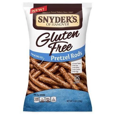 Snyder's Gluten Free Pretzel Rods - 8oz - image 1 of 1