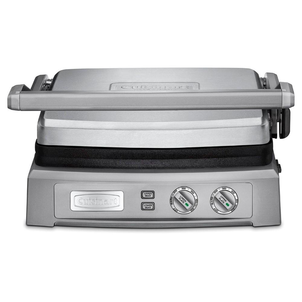 Cuisinart Griddler Deluxe – Stainless Steel GR-150, Silver 51223406