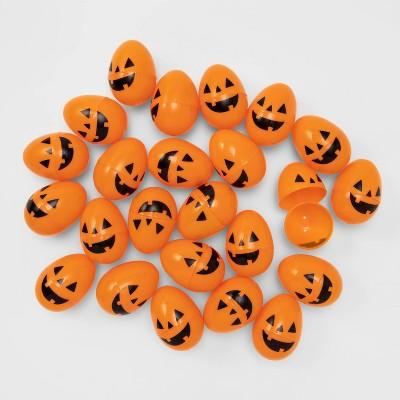 24ct Orange Printed Scavenger Hunt Halloween Fillable Eggs - Hyde & EEK! Boutique™