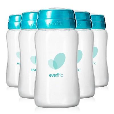 Evenflo Advanced Breast Milk Collection Bottles 5oz, 6ct