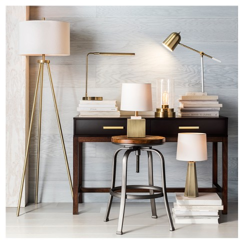 Drum Linen Lamp Shade White Large Threshold Target