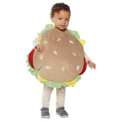 Baby Hamburger Halloween Costume L 2T-4T