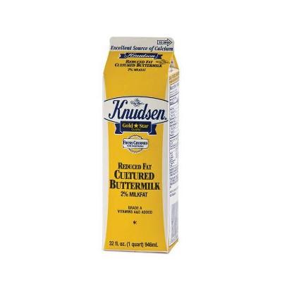 Knudsen 2% Buttermilk - 1qt