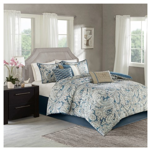 Celena Printed Comforter Set 7pc - image 1 of 4