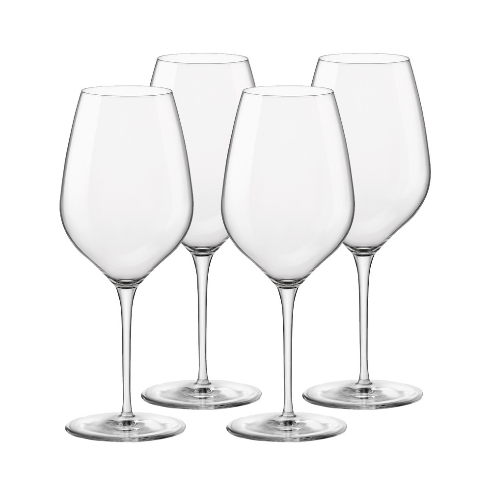 Image of Bormioli Rocco 4pk Tre Sensi Wine Glasses, Clear