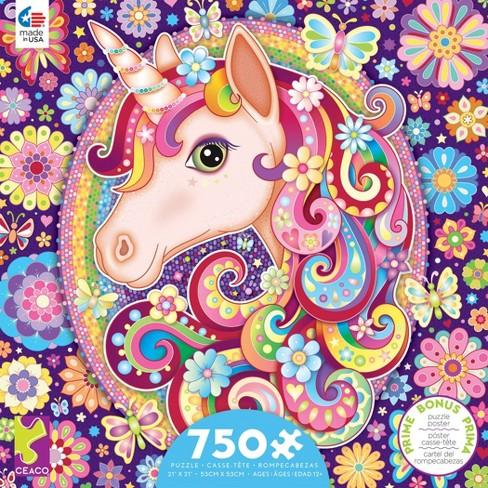Ceaco Groovy Animals: Unicorn Puzzle 750pc - image 1 of 2