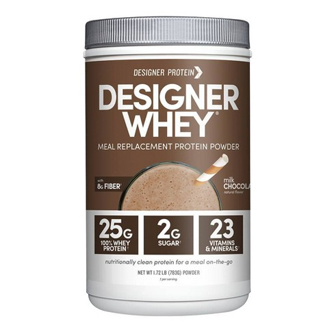 Designer Whey Protein Meal - Milk Chocolate - 1.72lbs - image 1 of 3
