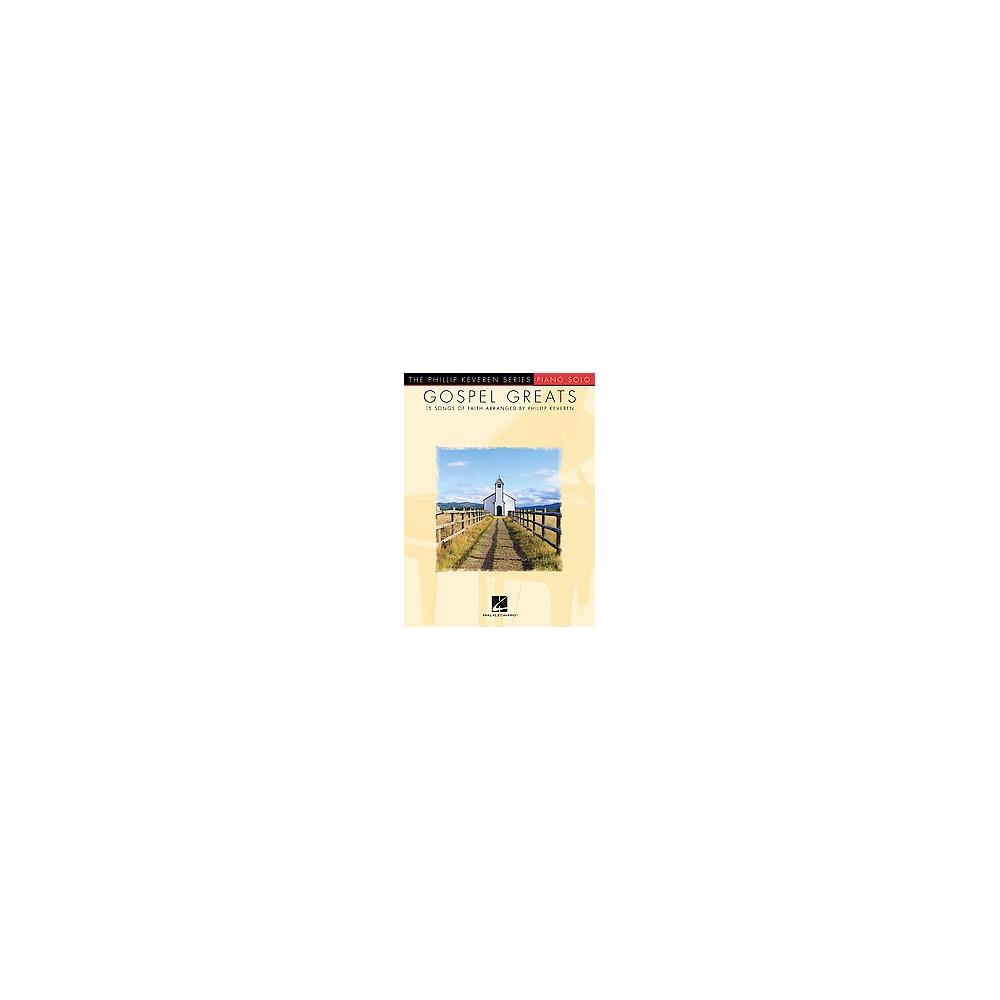 Gospel Greats : Piano Solo: 15 Songs of Faith (Paperback)