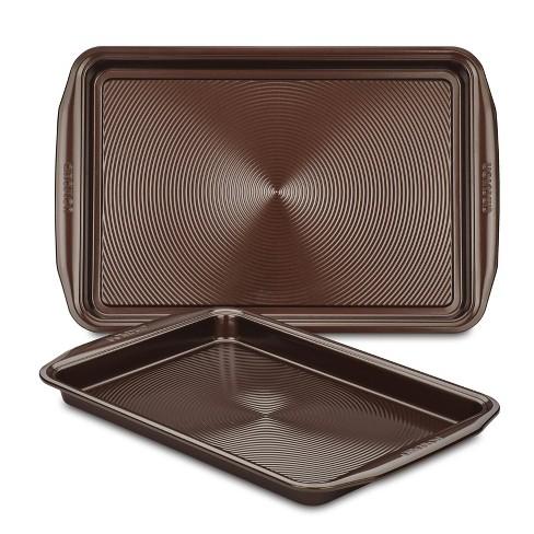 Circulon 2pc Nonstick Cookie Sheet Set Merlot - image 1 of 4