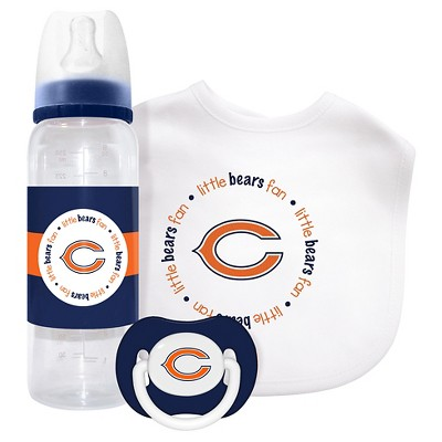 NFL Chicago Bears® Baby Fanatic 3-Piece Gift Set