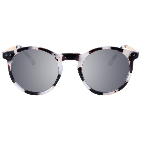 Women's Round Sunglasses - A New Day™ Gray - image 1 of 2