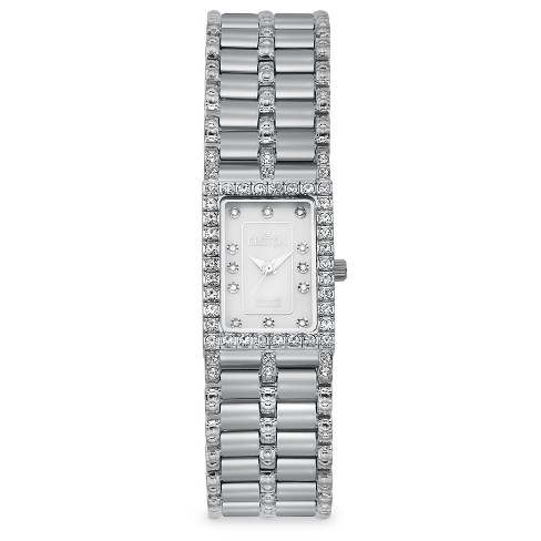 Croton Women's Stainless Steel Wristwatch - Silver - image 1 of 3
