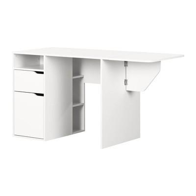 Crea Expandable Craft Table White - South Shore